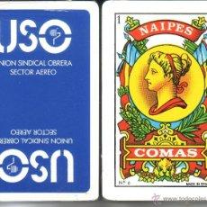 Barajas de cartas: USO - SECTOR AEREO - BARAJA ESPAÑOLA 40 CARTAS. Lote 46333331