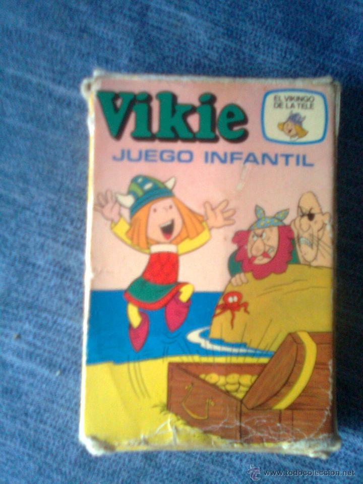 BARAJA DE CARTAS VIKIE, EL VIKINGO (EDICIONES RECREATIVAS, 1975) - COMPLETA WICKIE (Juguetes y Juegos - Cartas y Naipes - Barajas Infantiles)