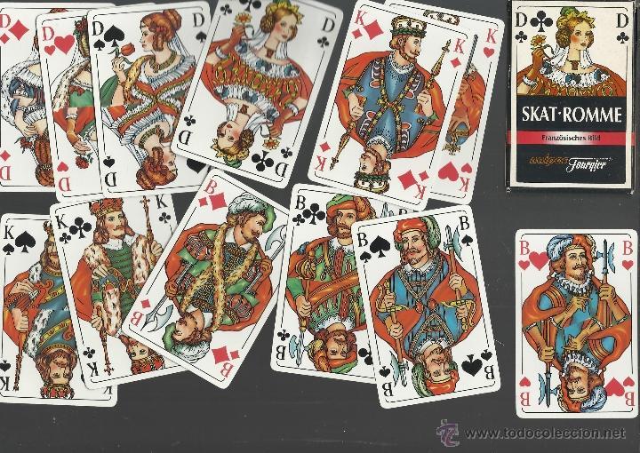 BARAJA DE COLECCION ALEMANA SKAT ROMME DE FOURNIER (Juguetes y Juegos - Cartas y Naipes - Otras Barajas)