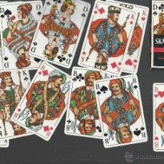 Barajas de cartas: BARAJA DE COLECCION ALEMANA SKAT ROMME DE FOURNIER . Lote 46355747