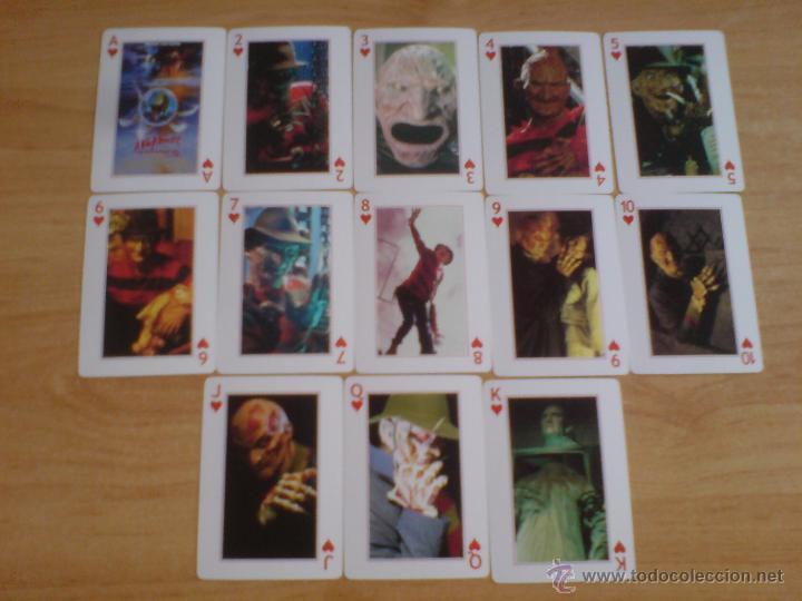 Barajas de cartas: baraja cartas freddy krueger - pesadilla en elm street (ver imágenes adicionales) - Foto 2 - 145177414