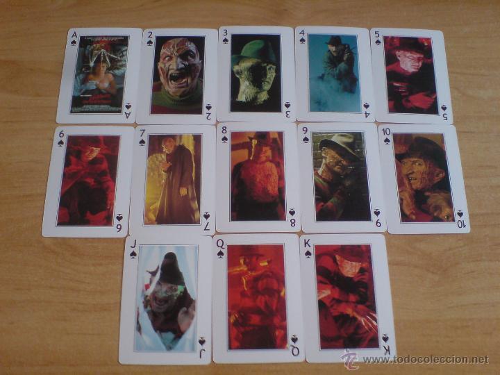 Barajas de cartas: baraja cartas freddy krueger - pesadilla en elm street (ver imágenes adicionales) - Foto 3 - 145177414