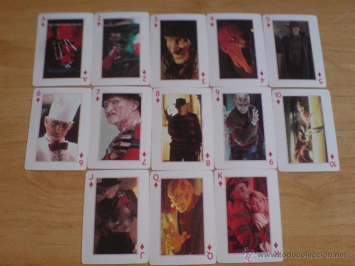 Barajas de cartas: baraja cartas freddy krueger - pesadilla en elm street (ver imágenes adicionales) - Foto 4 - 145177414
