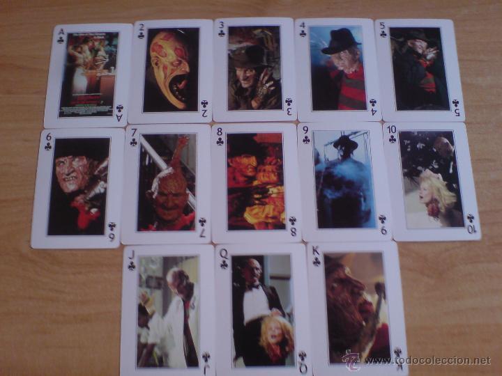 Barajas de cartas: baraja cartas freddy krueger - pesadilla en elm street (ver imágenes adicionales) - Foto 5 - 145177414