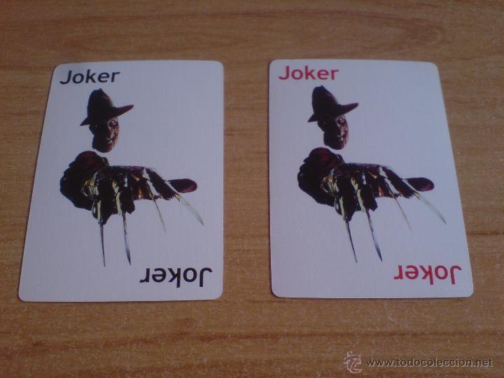 Barajas de cartas: baraja cartas freddy krueger - pesadilla en elm street (ver imágenes adicionales) - Foto 6 - 145177414