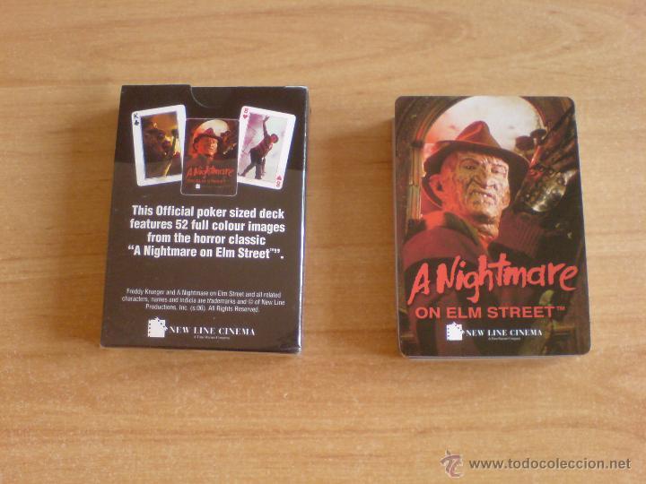 Barajas de cartas: baraja cartas freddy krueger - pesadilla en elm street (ver imágenes adicionales) - Foto 7 - 145177414