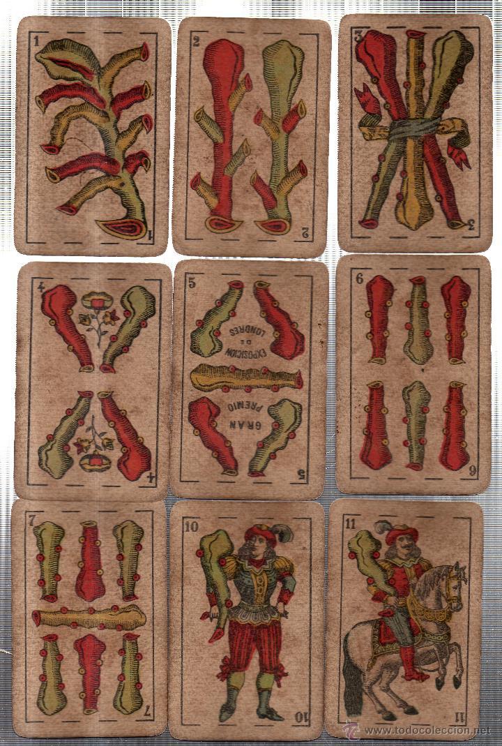 Barajas de cartas: BARAJA DE CARTAS- SEGUNDO OLEA,FABRICA DE NAIPES FINOS,CADIZ,AÑO 1912,USADAS E INCOMPLETA - Foto 5 - 12717498