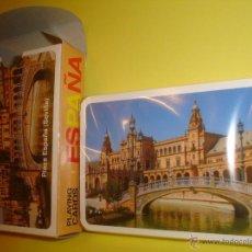 Barajas de cartas: BARAJA DE POKER ESPAÑOL - SEVILLA PLAZA DE ESPAÑA. Lote 46508669