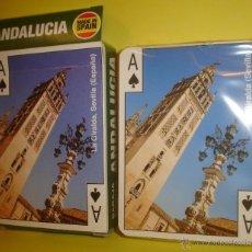 Barajas de cartas: BARAJA POKER ESPAÑOL - LA GIRALDA SEVILLA - VARITEMAS. Lote 50393199
