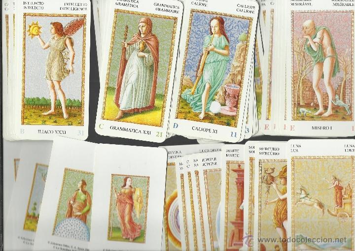 BARAJA DE TAROT DE MANTEGNA COMPLETA 54 CARTAS NUMERADAS NUEVA PERFECTA (Juguetes y Juegos - Cartas y Naipes - Barajas Tarot)