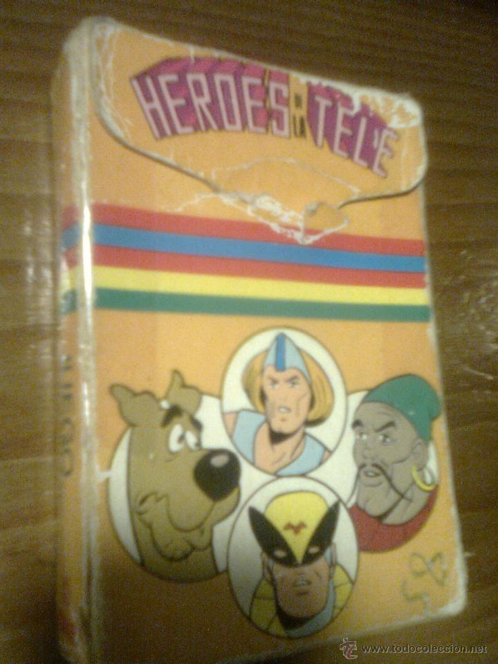 BARAJA JUEGO DEL ATAQUE. HEROES DE LA TELE HANNAH BARBERA (EDICIONES RECREATIVAS, 1979) (Juguetes y Juegos - Cartas y Naipes - Barajas Infantiles)