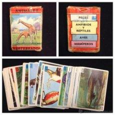 Barajas de cartas: BARAJA DE CARTAS - FOURNIER - ANIMALES VERTEBRADOS - COMPLETA - PB1. Lote 46610838