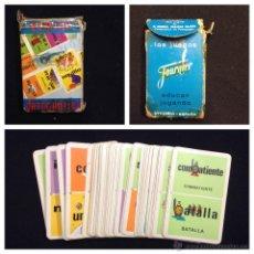 Barajas de cartas: BARAJA DE CARTAS - FOURNIER - DOMINO ORTOGRAFICO - INCOMPLETA - PB1. Lote 46611205