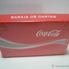 Barajas de cartas: COCA COLA - BARAJA DE CARTAS A ESTRENAR - PRECINTADA. Lote 132397493