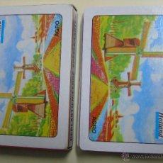 Barajas de cartas: BARAJA DE CARTAS DE PÓKER HOLANDESA. SOUVENIR DE HOLANDA. MOLINOS DE VIENTO. Lote 46626202