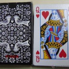 Barajas de cartas: BARAJA DE CARTAS DE PÓKER DANESA. MARCA TIGER. ESTAMPADO AVES. DINAMARCA. Lote 46626230