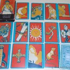 Barajas de cartas: BARAJA DE CARTAS DE TAROT. EL ORÁCULO DE FÁTIMA. AÑO 2002 LO SCARABEO ORBIS. Lote 213758208