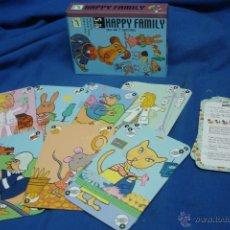 Baralhos de cartas: - HAPPY FAMILY - JUEGO DE CARTAS INFANTIL -7 FAMILIAS - EDITORIAL DJECO. Lote 46644298