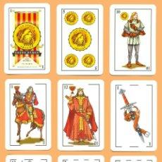 Barajas de cartas: BARAJA SAN JORGE ARAGÓN. JUSTO PÉREZ Nº 6 JUEGO DE NAIPES/PLAYING CARDS/JEU DE CARTES/SPIELKARTEN.. Lote 46708530