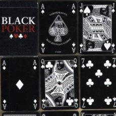 Barajas de cartas: BARAJA BLACK POKER, PLAYING CARDS. JEU DE CARTES. SPIELKARTEN, CASINOS, NAIPE. Lote 47598156