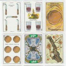Barajas de cartas: JUEGO DE NAIPES:- BARAJA RIOJANA -.ILUSTRADO POR EMILIO LOPE.HERACLIO FOURNIER, VITORIA -1984. Lote 46831537