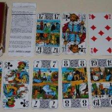 Barajas de cartas: BARAJA DE CARTAS DE TAROT FRANCESA. TAROT DUCALE DE 1985. FRANCIA. Lote 46872182