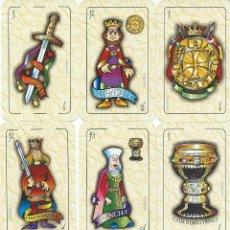 Barajas de cartas: BARAJA ESPAÑOLA HISTORICA DEL REINO DE LEON. Lote 70970186