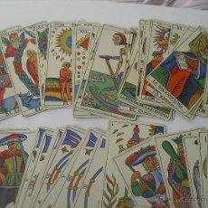 Barajas de cartas: BARAJA DE CARTAS DE TAROT ESPAÑOL SPANISH. HERACLIO FOURNIER, DE 1975. Lote 47004662