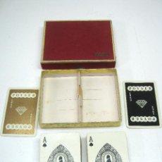 Barajas de cartas: ESTUCHE 1969 CON DOS BARAJAS DE CARTAS POKER POYSER. Lote 47021976