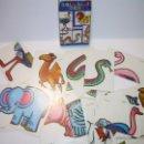 Barajas de cartas: ANTIGUA BARAJA DE CARTAS...ANIMALES LOCOS...32 CARTAS ...FOURNIER.. Lote 47054651