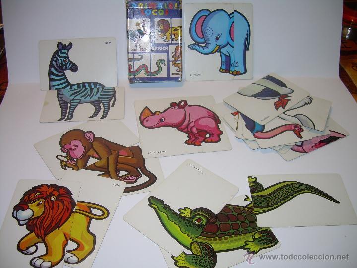 Barajas de cartas: ANTIGUA BARAJA DE CARTAS...ANIMALES LOCOS...32 CARTAS ...FOURNIER. - Foto 2 - 47054651