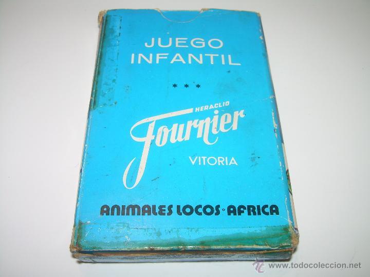 Barajas de cartas: ANTIGUA BARAJA DE CARTAS...ANIMALES LOCOS...32 CARTAS ...FOURNIER. - Foto 5 - 47054651