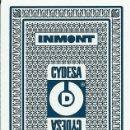 Barajas de cartas: BARAJA ESPAÑOLA PUBLICITARIA TINTAS INMONT CYDESA-FOURNIER. Lote 47083154