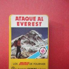 Barajas de cartas: LOS MINIS DE FOURNIER. ATAQUE AL EVEREST. Lote 47115956