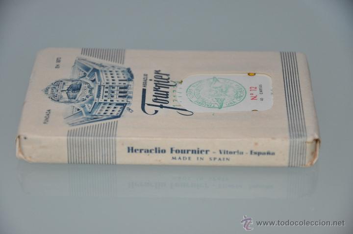 Barajas de cartas: BARAJA DE CARTAS DE FOURNIER N. 12 PRECINTADA DE 1960 APROXIMADAMENTE CON NUMERACION 171779 - Foto 2 - 47131734