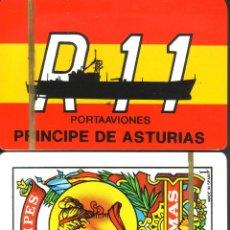 Barajas de cartas: PORTAAVIONES PRINCIPE DE ASTURIAS - BARAJA ESPAÑOLA DE 40 CARTAS. Lote 47144437