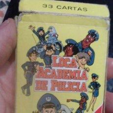 Barajas de cartas: BARAJA DE CARTAS LOCA ACADEMIA DE POLICIA. Lote 47204656