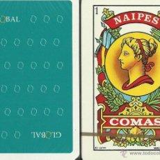 Barajas de cartas: GLOBAL - BARAJA ESPAÑOLA 40 CARTAS . Lote 47237751