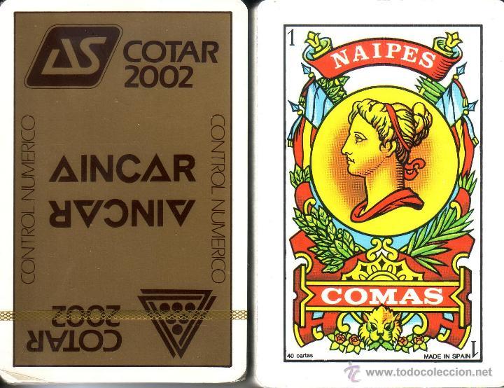 COTAR - BARAJA ESPAÑOLA 40 CARTAS (Juguetes y Juegos - Cartas y Naipes - Baraja Española)