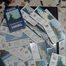 Barajas de cartas: FUERZA NAVAL BARAJA FOURNIER INCOMPLETA. Lote 47264086