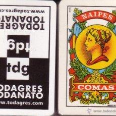 Barajas de cartas: TODAGRES - BARAJA ESPAÑOLA 40 CARTAS. Lote 47328029