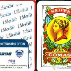 Barajas de cartas: LIDERCAR - BARAJA ESPAÑOLA 40 CARTAS. Lote 47329029