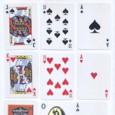 Barajas de cartas: BARAJA DE POKER DE MR. SEBASTIAN Y EL MAGO NEGRO. Lote 47368144