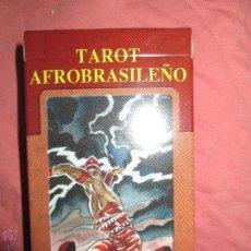 Barajas de cartas: TAROT AFROBRASILEÑO - LO SCARABEO - ITALIA - EN CAJA PRECINTADO, 78 CARTAS -. Lote 47382630