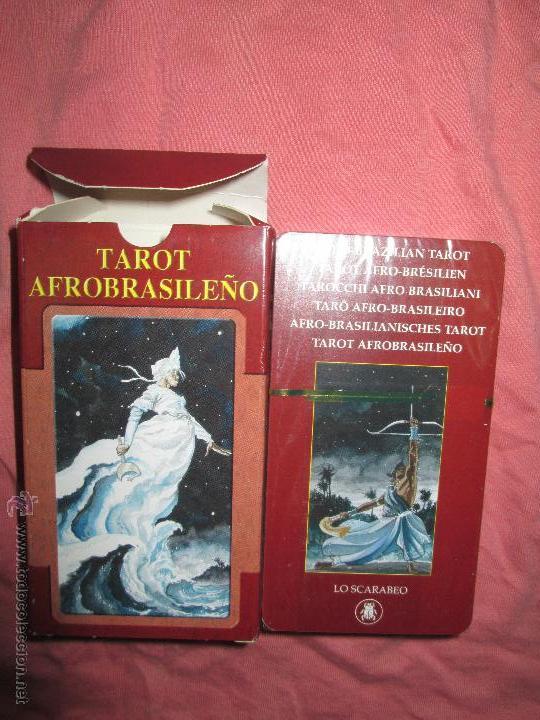 Barajas de cartas: tarot afrobrasileño - lo scarabeo - italia - en caja precintado, 78 cartas - - Foto 2 - 47382630