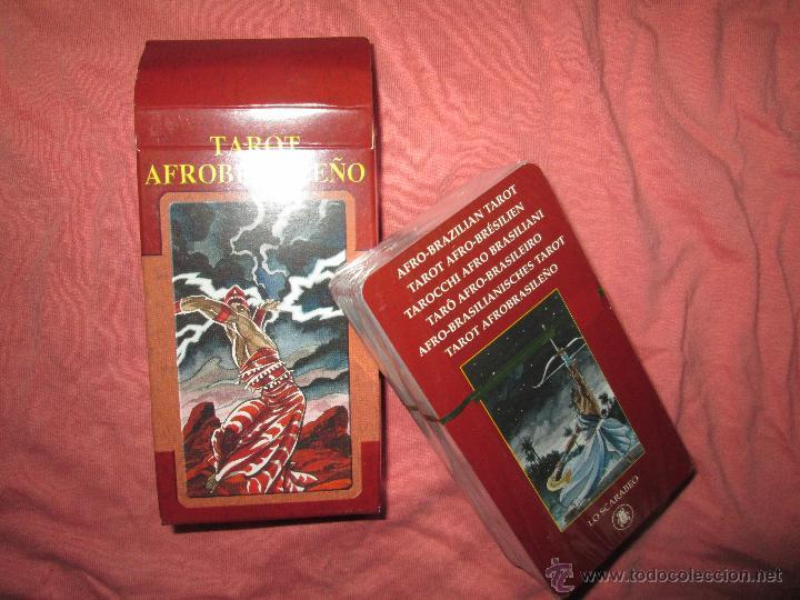 Barajas de cartas: tarot afrobrasileño - lo scarabeo - italia - en caja precintado, 78 cartas - - Foto 3 - 47382630