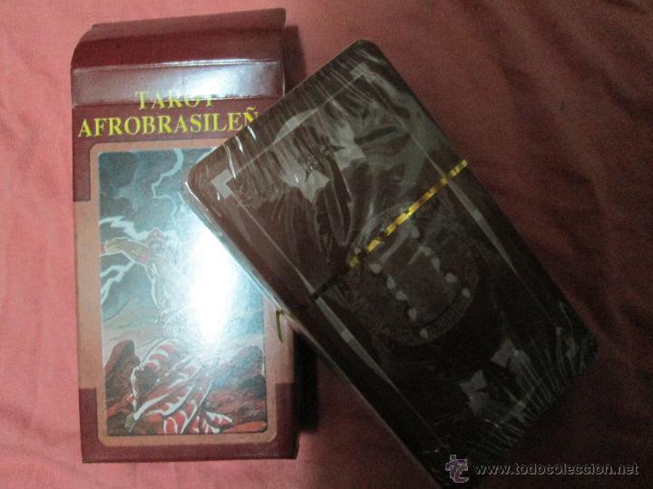 Barajas de cartas: tarot afrobrasileño - lo scarabeo - italia - en caja precintado, 78 cartas - - Foto 5 - 47382630