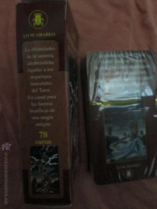 Barajas de cartas: tarot afrobrasileño - lo scarabeo - italia - en caja precintado, 78 cartas - - Foto 6 - 47382630