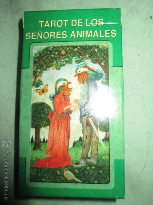 TAROT DE LOS SEÑORES ANIMALES - LO SCARABEO - ITALIA. EN CAJA PRECINTADO - 78 CARTAS (Juguetes y Juegos - Cartas y Naipes - Barajas Tarot)