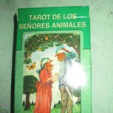 Barajas de cartas: TAROT DE LOS SEÑORES ANIMALES - LO SCARABEO - ITALIA. EN CAJA PRECINTADO - 78 CARTAS. Lote 47382847